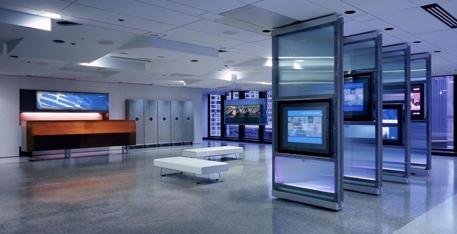 IBM reception area
