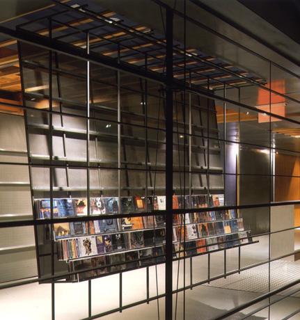 Nettwerk store display
